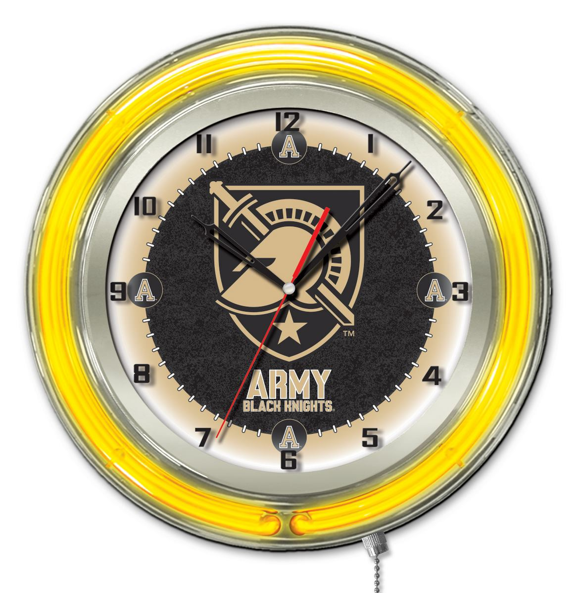 US Military Academy ARMY Double Neon Ring 19quot dia Logo  : Clk19USMilA from zerbee.com size 1174 x 1200 jpeg 173kB