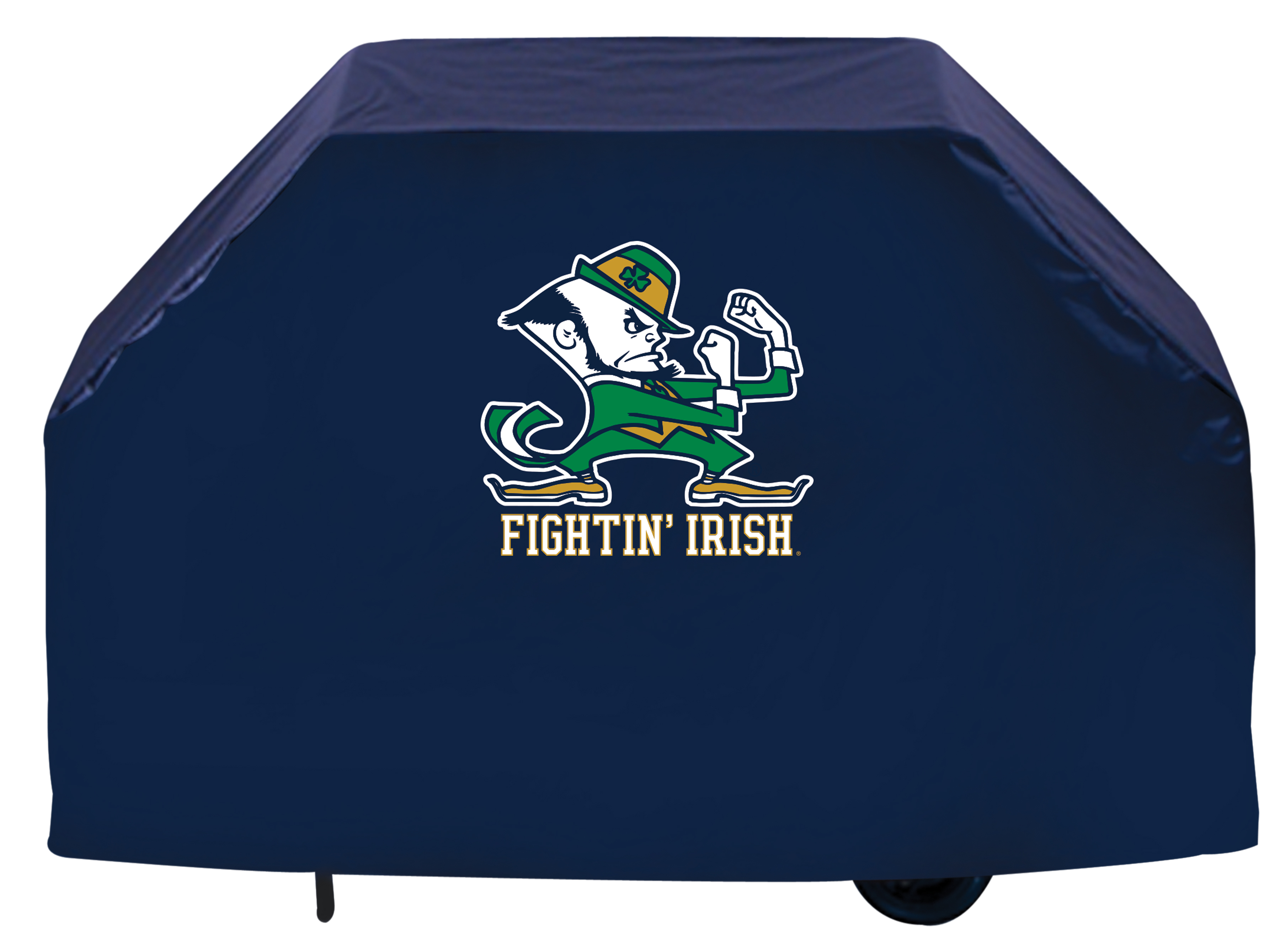 60 Quot Notre Dame Leprechaun Grill Cover By Covers Zerbee