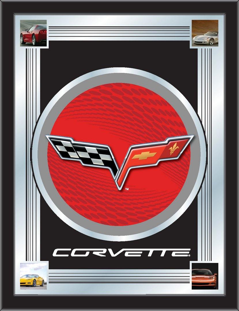Corvette C6 17 Quot X 22 Quot Logo Mirror Zerbee